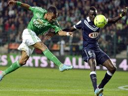 Dynamisch und schussstark: Pierre-Emerick Aubameyang (li.) wird vom BVB heiß umworben.