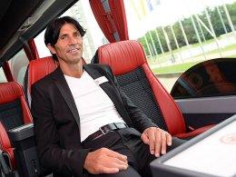In Sachen Kaderplanung gänzlich entspannt: Eintracht-Manager Bruno Hübner.