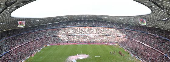 In der Allianz Arena in München steigt der Audi Cup 2013.