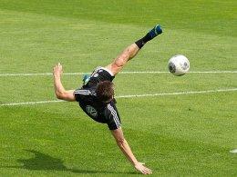 Ivica Olic im Training