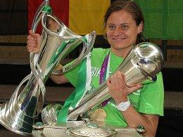 Fußballspielerin des Jahres: Martina Müller.