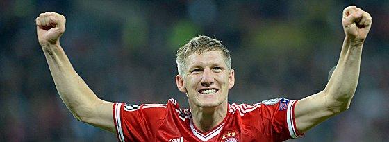 Bastian Schweinsteiger triumphierte bei der Wahl zum Fußballer des Jahres 2013.