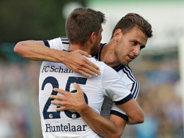 Szalai und Huntelaar