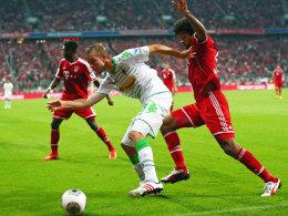Keine Angst vor Triple-Gewinnern: Gladbachs Christoph Kramer überzeugte in München vollauf.
