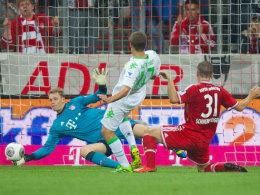 Musste gegen Gladbach häufiger eingreifen, als ihm lieb war: Bayern-Keeper Manuel Neuer.
