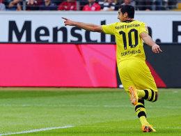 Dortmunds Matchwinner: Mkhitaryan erzielte in Frankfurt einen Doppelpack.