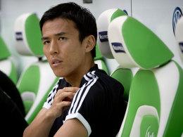 Makoto Hasebe wechselt von Wolfsburg nach Nürnberg.