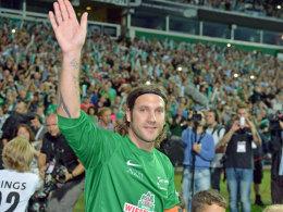 Torsten Frings feierte zum Abschied ein rauschendes Fußball-Fest im Weserstadion.