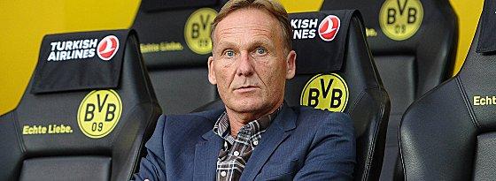Macher beim BVB: Geschäftsführer Hans-Joachim Watzke.