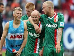 FC Augsburg feiert