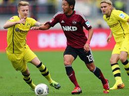 Marco Reus (li.) und Marcel Schmelzer (re.).