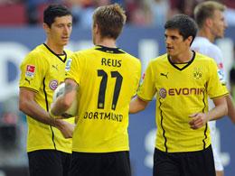 Lewandowski, Reus und Hofmann