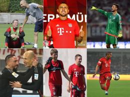 Vertragslaufzeiten der Bayern-Stars