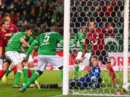 Bremen jubelte über Garcias 3:2-Siegtreffer gegen Hannover.