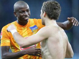 Adrian Ramos lässt sich in Hoffenheim herzen