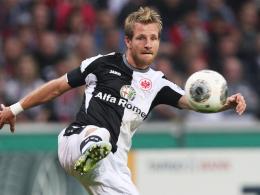 Muss wohl auch gegen Schalke passen: Eintracht Frankfurts Stefan Aigner.