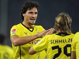Fehlen dem BVB: Mats Hummels und Marcel Schmelzer.