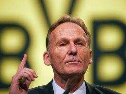 BVB-Boss Hans-Joachim Watzke will die Einnahmen aus der Königsklasse nicht noch weiter verteilen.