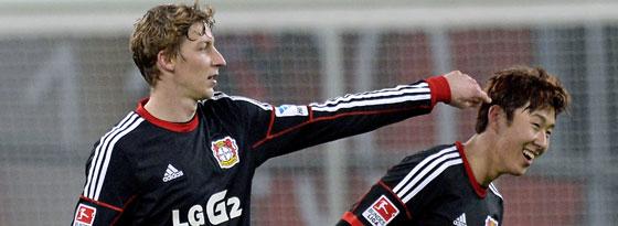 Leverkusens Sieggaranten: Kießling und Son.