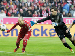 Robben war gegen Braunschweig der Münchner Matchwinner.