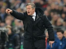 Gibt auch in der Rückrunde die Richtung bei Schalke an der Seitenlinie vor: Jens Keller.