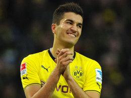Nuri Sahin kann es nicht fassen. Dortmund unterliegt Aufsteiger Berlin.