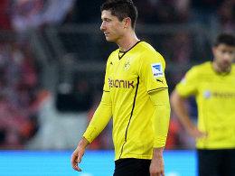 In München gelandet: Der Wechsel von Robert Lewandowski zu den Bayern ist perfekt.