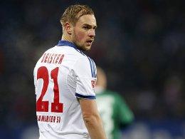 Bitter: Für Hamburgs Maximilian Beister ist die Saison gelaufen.