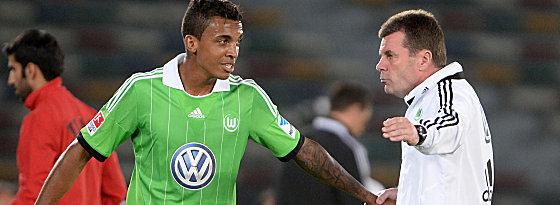 Schlüsselspieler und Trainer: Luiz Gustavo und Dieter Hecking.
