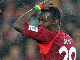 "Soll bis zum Saisonende ""definitiv bei 96"" bleiben: Mame Diouf."