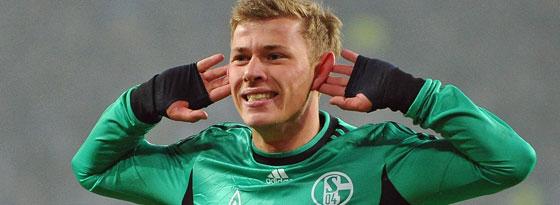 Schalkes Meyer besorgte das 3:0 beim HSV.