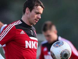 Mit voller Konzentration in die Rückrunde: Markus Feulner darf gegen Hoffenheim ran.