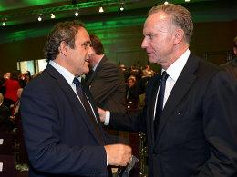 Michel Platini und Karl-Heinz Rummenigge