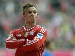Kleiner Imperator: Bayerns Shaqiri traf gegen Freiburg doppelt.
