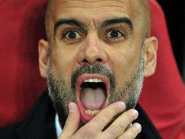 Pep Guardiola in London