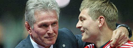 Väterlicher Förderer: Jupp Heynckes und Toni Kroos.
