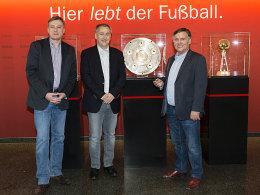 Jörg Jakob, Wolfgang Fabian und Rainer Franzke