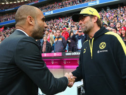 Josep Guardiola (links) und Jürgen Klopp