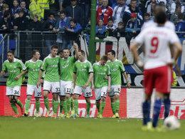 Wolfsburg jubelt