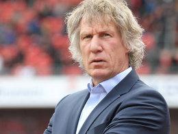 Trainer Gertjan Verbeek vom 1. FC Nürnberg