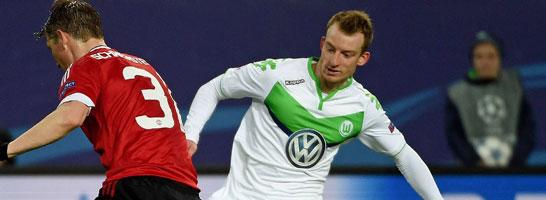 Geschmeichelt vom Schalker Interesse: Wolfsburgs Maximilian Arnold.