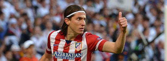 L�uft wieder f�r Atletico Madrid auf: Filipe Luis.