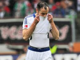 Große Enttäuschung: Heiko Westermann war neben Calhanoglu noch Hamburgs Bester in Augsburg.