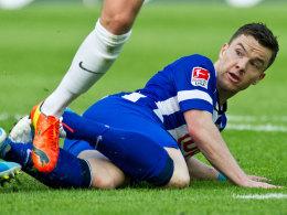 Herthas Alexander Baumjohann fällt für das Bremen-Spiel aus.
