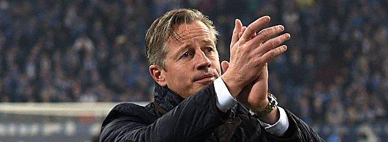 Schalkes Trainer Jens Keller
