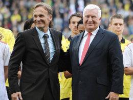 Hans-Joachim Watzke und Klaus Engel