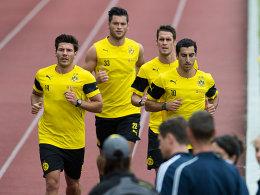 Trainingsauftakt BVB