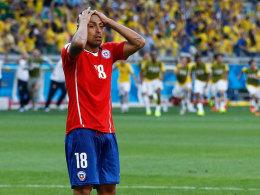 Gonzalo Jara nach dem WM-Aus gegen Brasilien