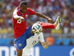 Machte eine gute Figur im Trikot Costa Ricas: Junior Diaz.