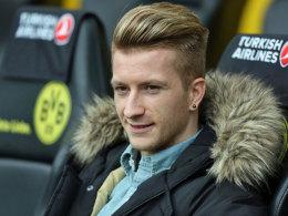 Möchte so schnell wie möglich die Zuschauerrolle eintauschen: Dortmunds Marco Reus.